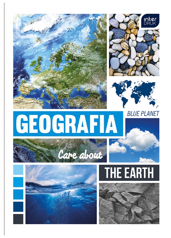 Zeszyt A5/60 kartkowy w kratkę - Geografia