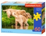 Puzzle Puppies by the River 60 elementów (B-06946)