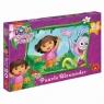 Puzzle Maxi Jak Cudownie Dora Poznaje Świat 20 (1094)