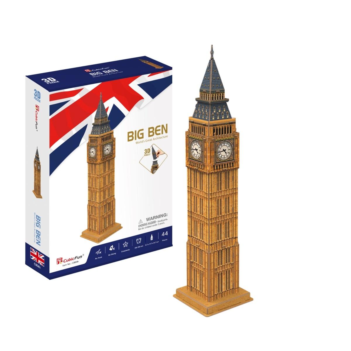 Puzzle 3D: Zegar Big Ben MIX (306-20094)