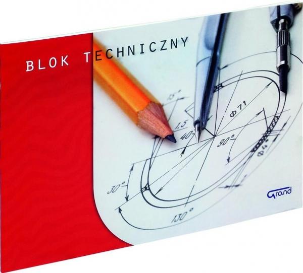Blok techniczny A3 Fiorello 10 kartek