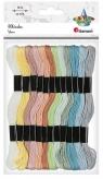 Mulina 8mm pastelowa 12 kolorów