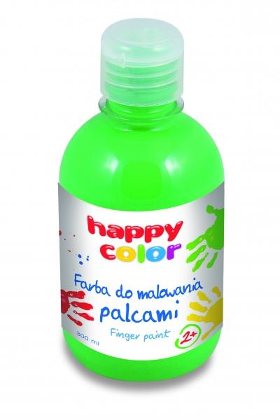 Farba do malowania palcami 300ml - zielony (300-5)