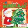 Święta Mikołaja Książka z szablonami do odrysowania