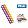 Linijka plastikowa Milan ACID trójkątna 15 cm (351260C)