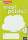Teraz polski 4 Zeszyt ćwiczeń