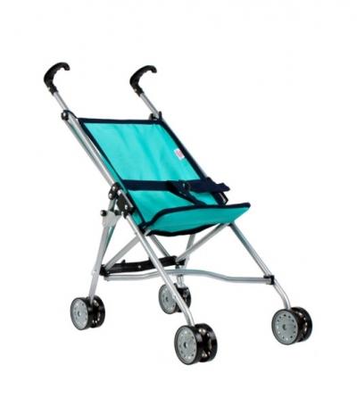 Wózek dla lalki - turkusowy
