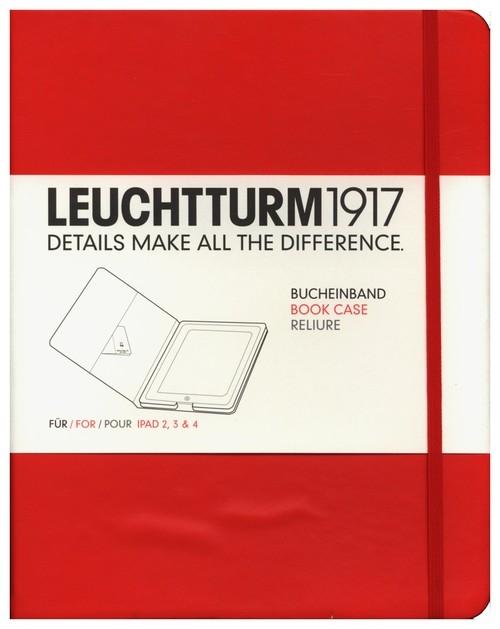Etui iPad 2-4 Leuchtturm1917 czerwone