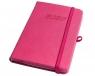Kalendarz 2020 A6 tyg. Techno różowy ELEFANT