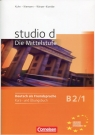 Studio d B2/1 Kurs und Ubungsbuch + CD