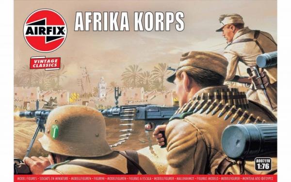 Model plastikowy Korpus Afryki II Wojna Światowa (00711V)