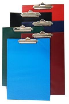 Deska clipboard A4 niebieska Tres