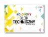 Blok techniczny A4/10k 170g kolor (SPA019)