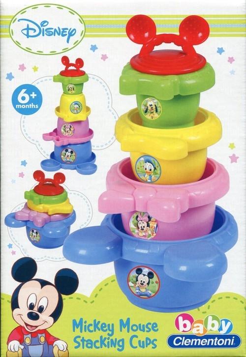 Nakładane kubki Baby Mickey (14394)