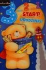 Karnet 3 latka chłopiec  3DV-070