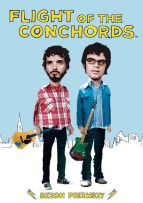 Flight of the Conchords (sezon 1, 2 DVD)