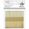 Drewniane patyczki do dekorowania - 100szt. (361577)