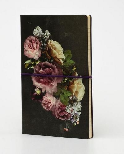 Notatnik A5 Ltd M linia Bukiet kwiatów Romantyczny