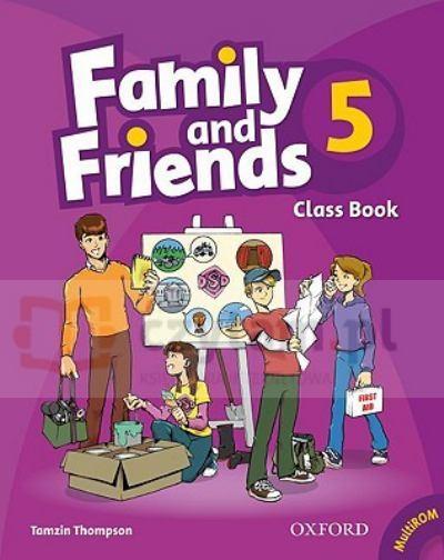 Family & Friends 5 SB +MultiROM Tamzin Thompson