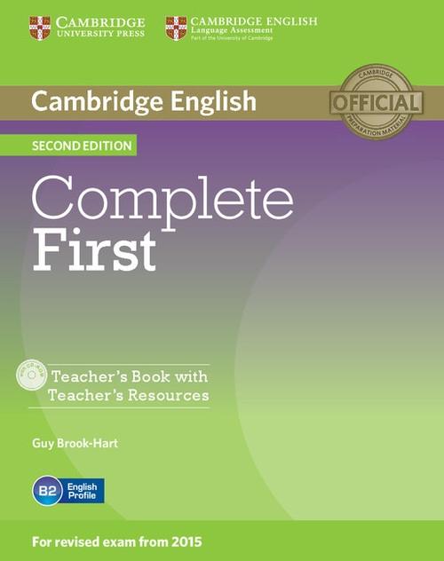 Complete First Teacher's Book with Teacher's Resources +CD Brook-Hart Guy