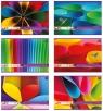 Blok techniczny kolorowy A4, 20 kartek, barwiony w masie BPZ mix