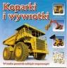 Mini encyklopedia z naklejkami Koparki i wywrotki