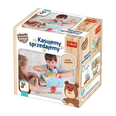 Zabawka drewniana Kasujemy sprzedajemy