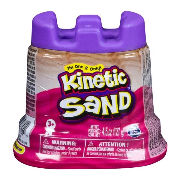 Kinetic Sand: Piasek kinetyczny - mini foremka 127g - różowy (6046626/20107024)