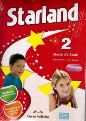 Starland 2 Student's Book Szkoła podstawowa Evans Virginia, Dooley Jenny
