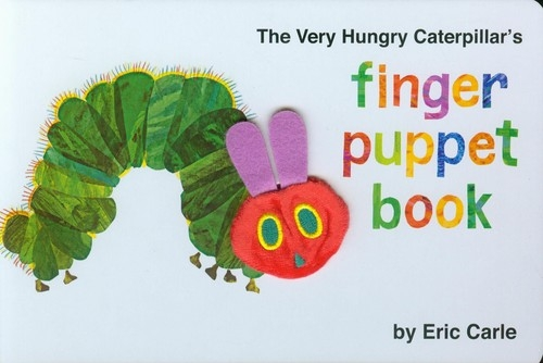 Very Hungry Caterpillar Finger Puppet Book Carle Eric