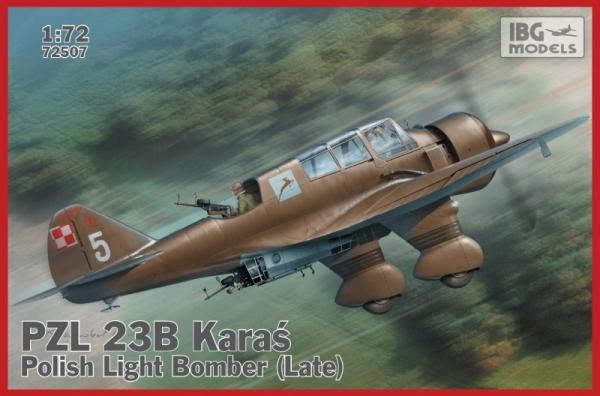 PZL.23B Karaś Late Production (72507)
