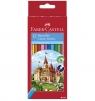 Kredki Zamek Faber-Castell, 12 kolorów (120112 FC)