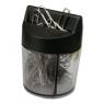 Spinacze 28mm srebrne pudełko magnetyczne 100 sztuk