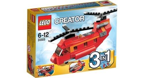 Lego Creator: Czerwony śmigłowiec (31003)