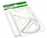 Kątomierz geometryczny 20cm (PHS-1220)