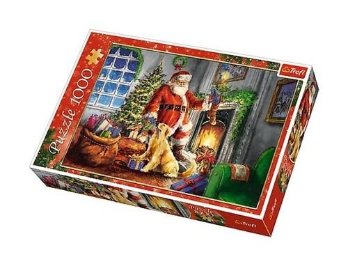 Puzzle Czas prezentów 1000