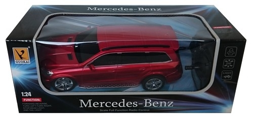 Mercedes GL550 zdalnie sterowany 1:24 czerwony