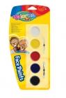 Farby do malowania twarzy 5 kolorów (15950PTR)
