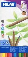 Kredki ołówkowe 12 kolorów