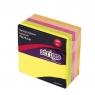Karteczki samoprzylepne 76x76mm 400 kartek neon