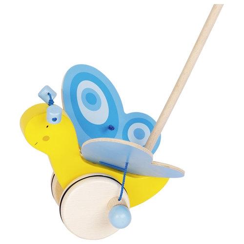 Pchacz Motyl I - zabawka do pchania (GOKI-54995)