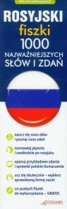 Rosyjski Fiszki 1000 najważniejszych słów i zdań dla początkujących