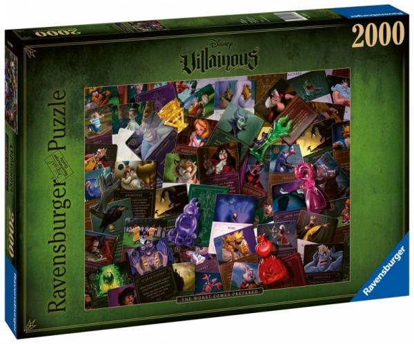 Puzzle 2000: Disney czarne charaktery (165063)