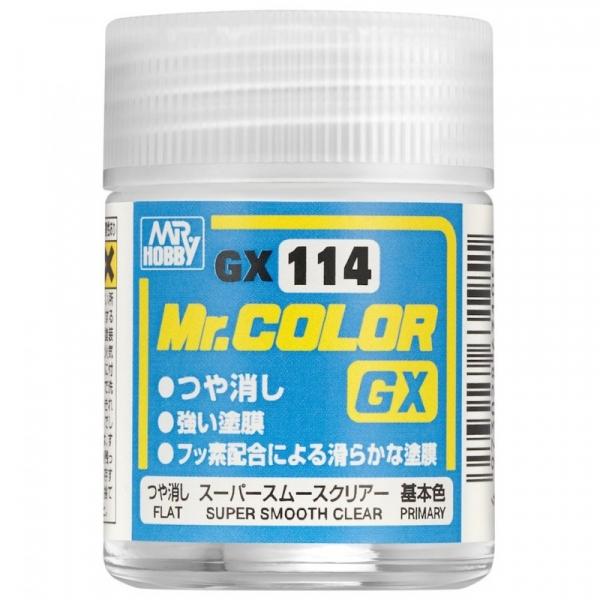 Super Smooth Clear Flat 18 ml (GX-114)