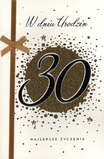 Karnet 30 Te urodziny A5 HM-100-736 HM-200-345
