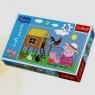 Świnka Peppa Puzzle 30 elementów Wizyta w kurniku