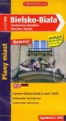 Bielsko - Biała Czechowice - Dziedzice Skoczów Żywiec 1:17 000