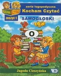 Kocham Czytać Zeszyt 1 Samogłoski Cieszyńska Jagoda