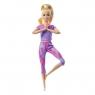 Barbie: Made to Move - lalka w fioletowym ubranku (FTG80/GXF04)