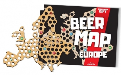 Mapa piwosza - Europa